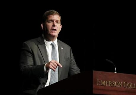 Boston Mayor Martin J. Walsh.